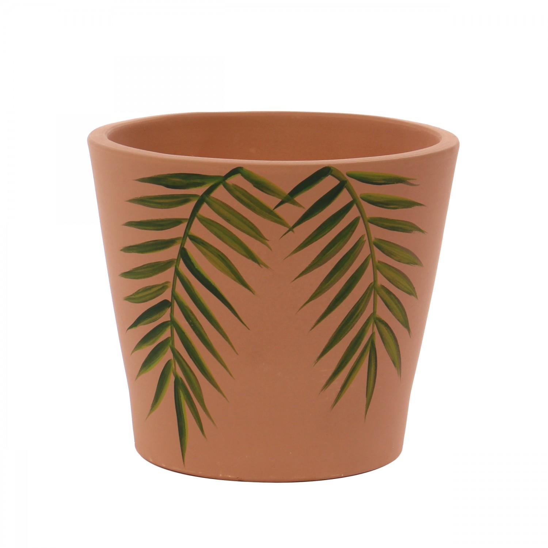 Ghivec ceramic, teracota, 33 x 30 cm