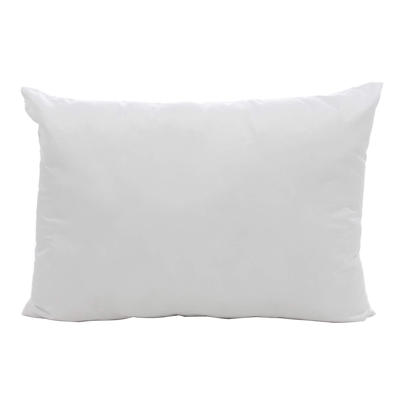 Perna pentru dormit Marys antialergica fibra siliconica + bumbac alb 50 x 70 cm