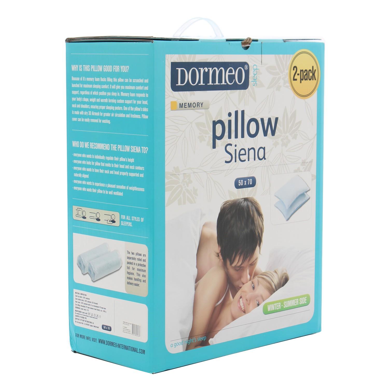 dormeo memory perne Dedeman Perna pentru dormit, set 2 bucati, Dormeo Siena Pillow  dormeo memory perne