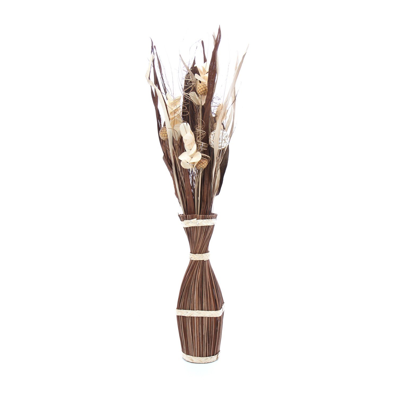 Flori uscate, 113AR 33598, 100 cm, maro