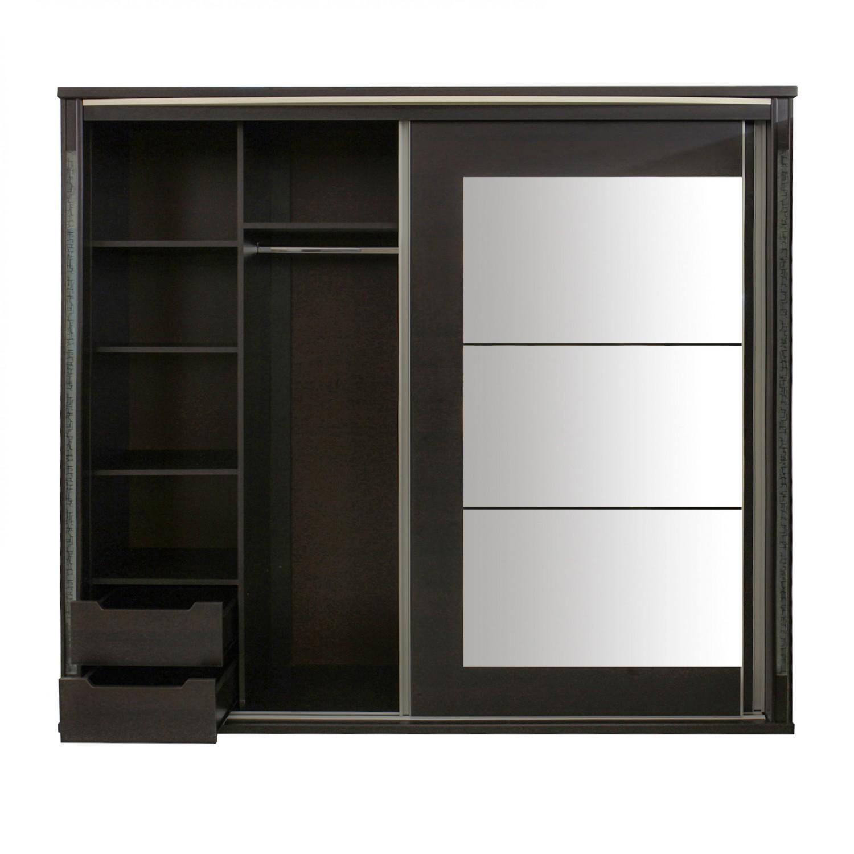 Dormitor Allegro, pat + dulap, wenge, 14C