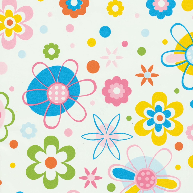 Autocolant pentru camera copii Gekkofix Circles 12683, multicolor, 0.45 x 15 m