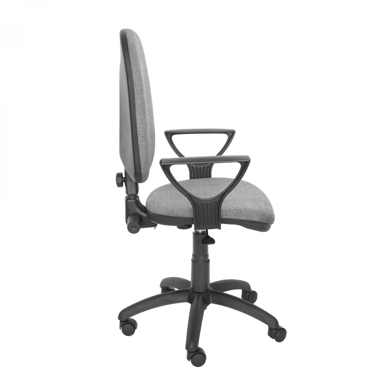 Scaun birou ergonomic Golf LX, rotativ, stofa C73, gri deschis