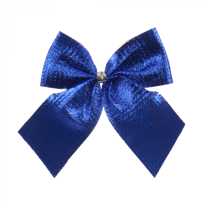 Fundite decorative Craciun, albastre, 6 x 5 cm, set 12 bucati, SY16HDJ-04