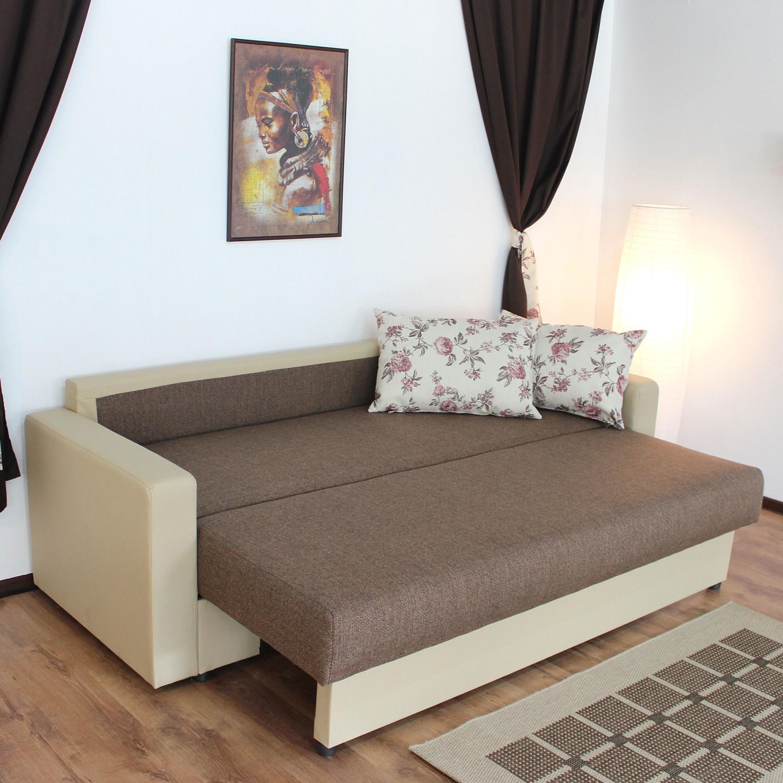 Dedeman canapea extensibila 3 locuri dorica cu lada crem for Canapele dedeman