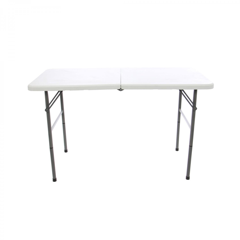 Masa plianta pentru gradina Z122-3X, metal + plastic, dreptunghiulara, 6 persoane, 122 x 61 x 74 cm
