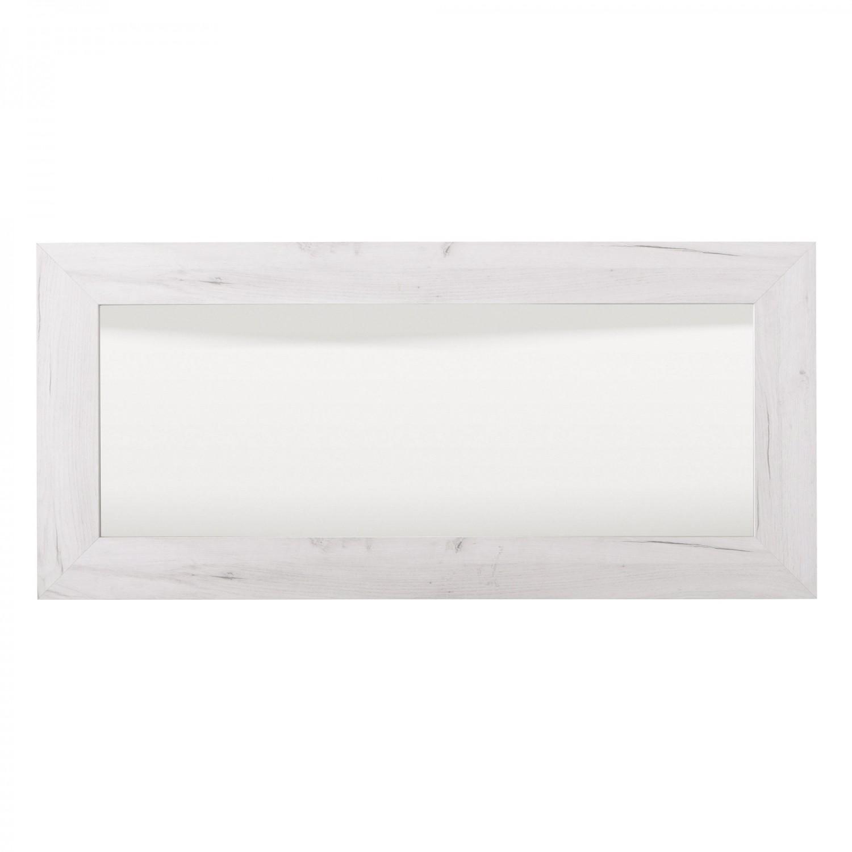 Oglinda pentru comoda Kent, stejar alb, 134 x 61.4 x 4 cm, 1C