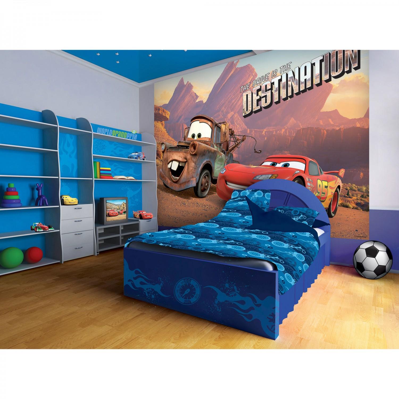 Fototapet copii duplex Disney Cars 10611P4 254 x 184 cm