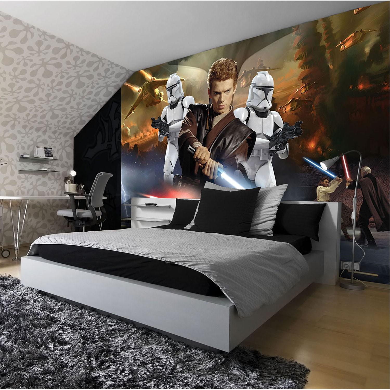 Fototapet copii duplex Disney Star Wars 1691P4 254 x 184 cm