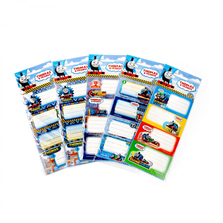 Set 20 etichete scolare diverse modele