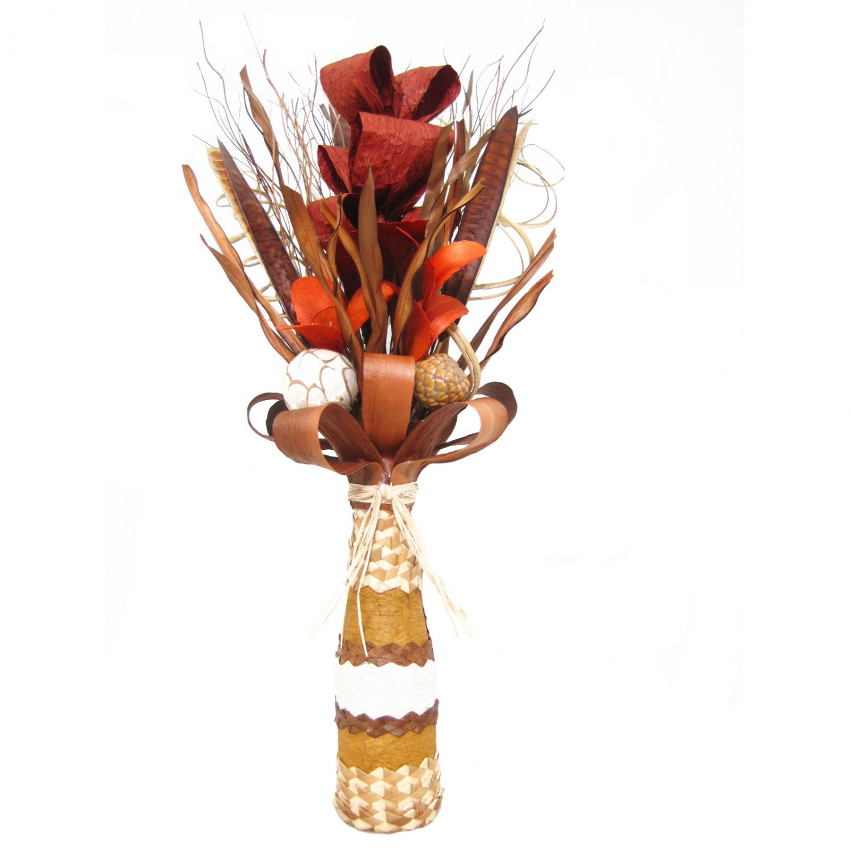 Flori uscate, 118 AR 38603, 50 cm, maro + natural