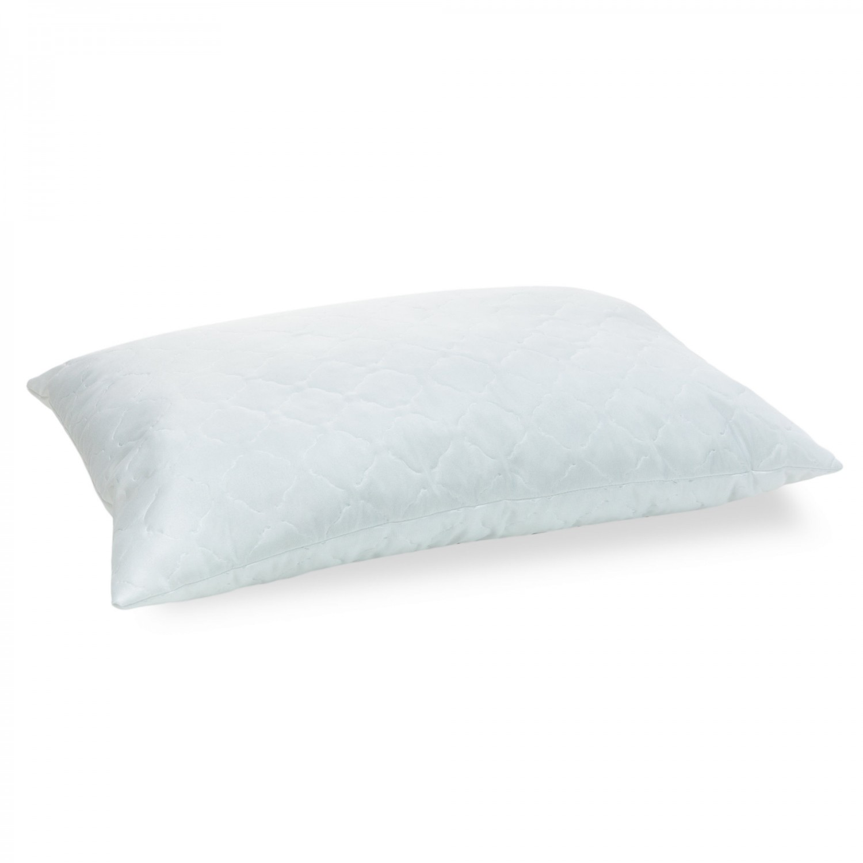 Perna pentru dormit, Minet Viseo, matlasata, alba, 50 x 70 cm