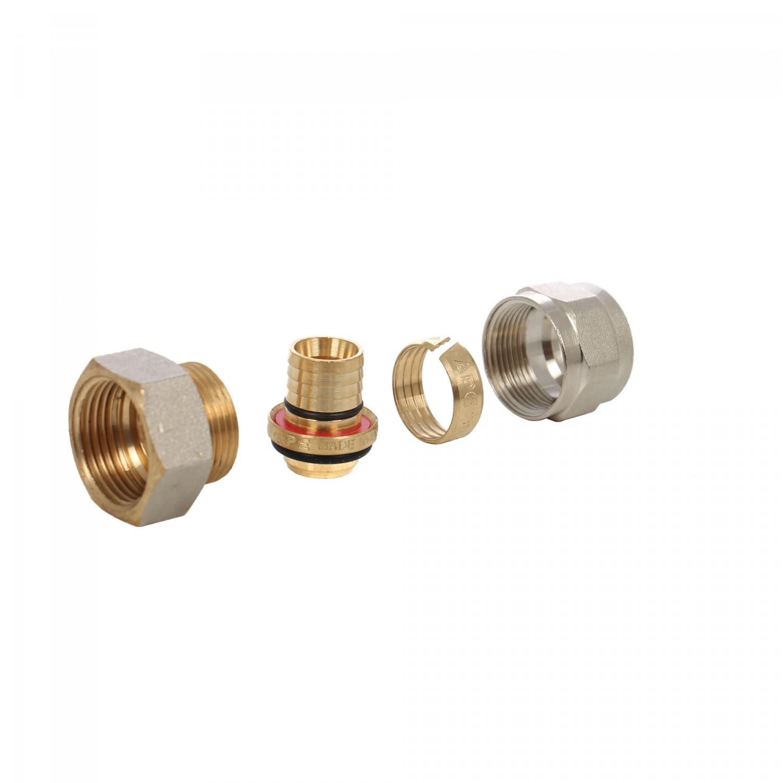 Racord pentru teava multistrat, FI, D 20 mm x 3/4 inch, 702L