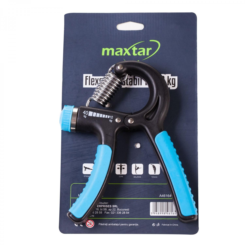 Flexor antebrat Maxtar, ajustabil, otel, rezistenta 10 - 40 kg