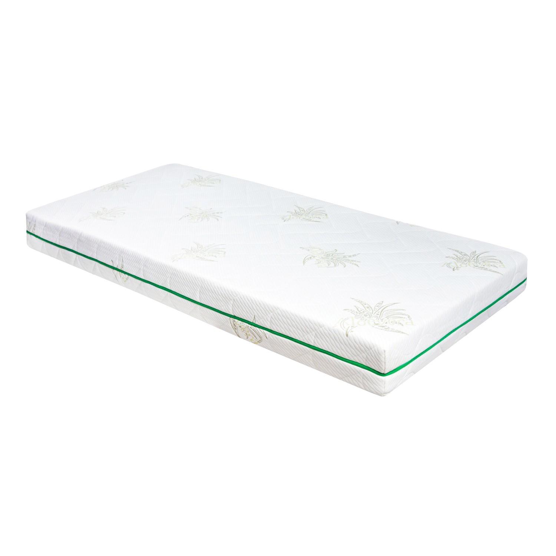 Saltea pat Adormo Ortopedic Green Line, cu spuma poliuretanica, fara arcuri, 160 x 200 cm