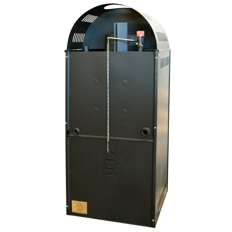Termosemineu pe lemne, brichete Aqua Plus, 25 kW, 1370 x 550 x 480 mm