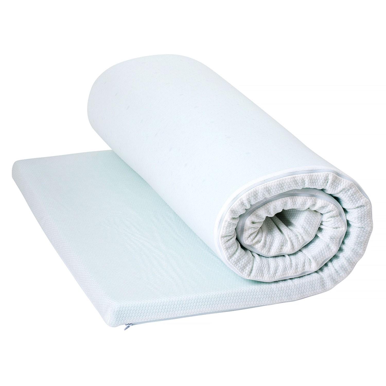 Topper saltea Bedora Cool Sense cu spuma poliuretanica + gel rece 160x200 cm