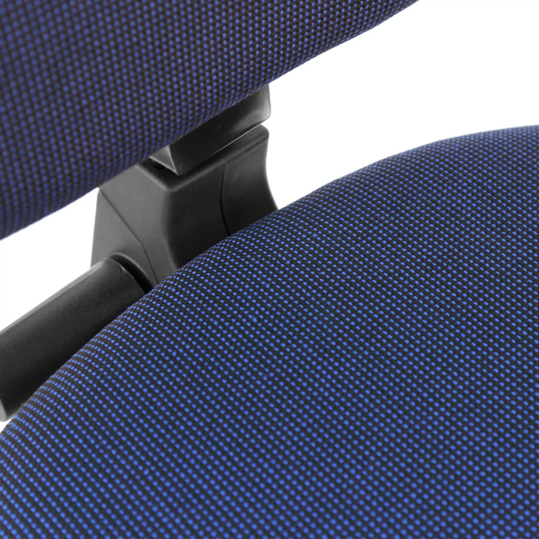 Scaun birou ergonomic Confort, rotativ, stofa A23, albastru