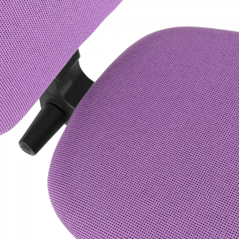 Scaun birou operational Confort LX, rotativ, stofa A76, roz