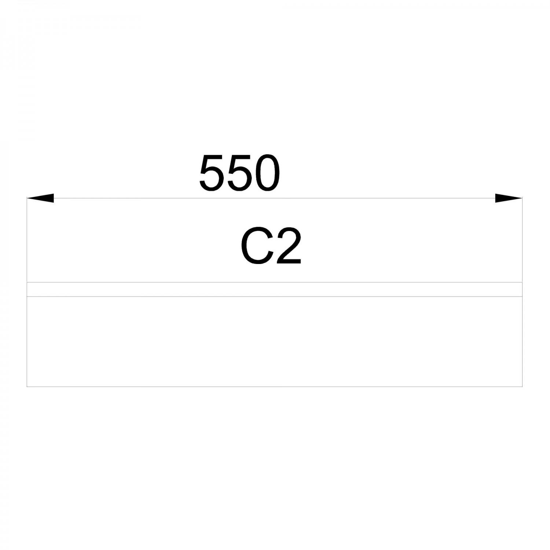 Camera tineret Alessia, stejar sonoma + stejar bronz, 273 cm, 5C