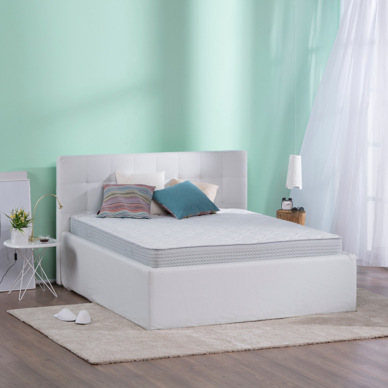 Saltea pat Dormeo Fresh Prima II, cu spuma memory + Ecocell, cu arcuri din spuma, 140 x 200 cm