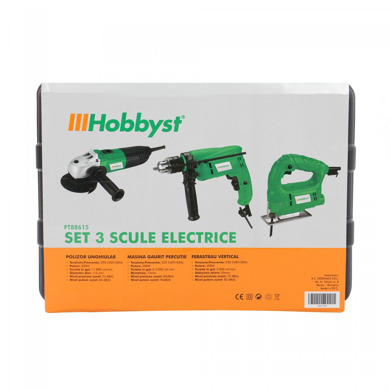 Set 3 scule electrice Hobbyst PT88615