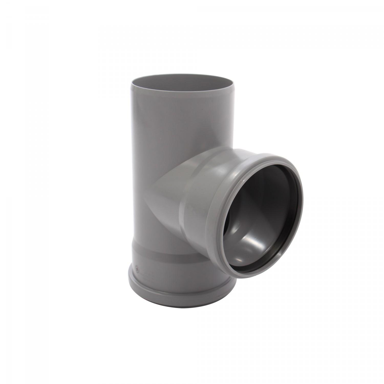 Ramificatie PP HTEA, pentru scurgere, D 110 x 110 mm, 87 grade