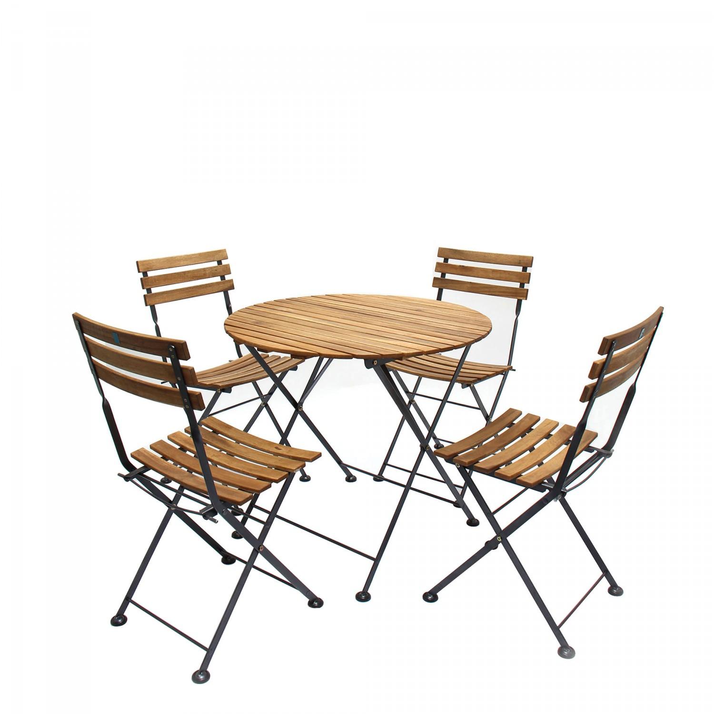 Dedeman set masa cu 4 scaune pentru gradina fst009 2 din for Masa cu scaune dedeman