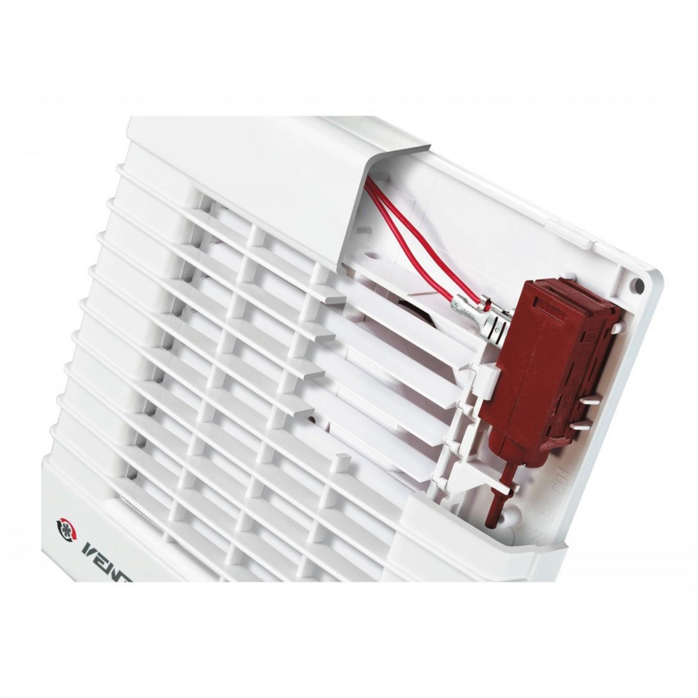 Ventilator automat cu intrerupator fir  Vents 125 MAV, D 125 mm, 22 W, 2400 RPM, 185 mc/h