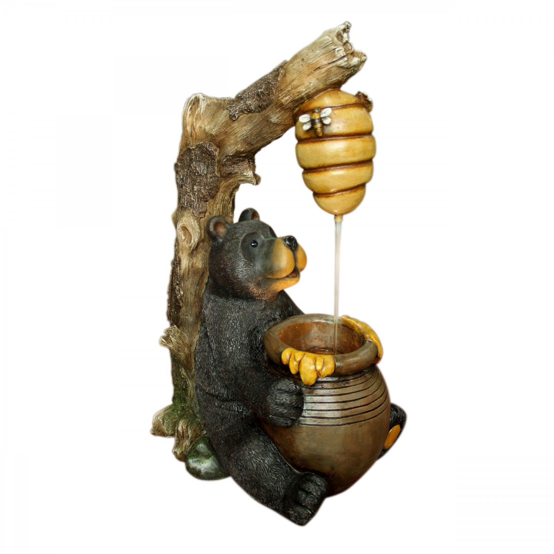 Fantana arteziana Grunman MZ13905AA, decoratiune gradina, cu pompa recirculare apa,  41 x 30 x 67.5 cm