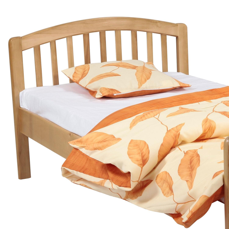 Pat dormitor Classic, o persoana, fag, 90 x 190 cm, 2C