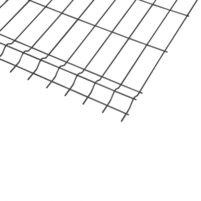Panou gard zincat bordurat 2000 x 2000 mm