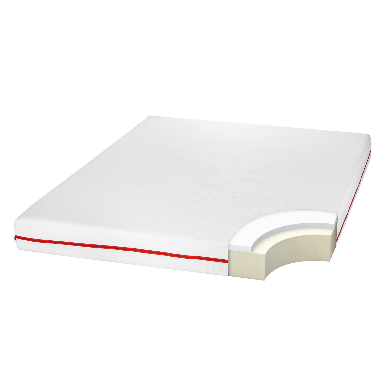 Saltea pat Bedora Confort Relax, 1 persoana, cu spuma poliuretanica + memory, fara arcuri, 90 x 200 cm + pilota + perna