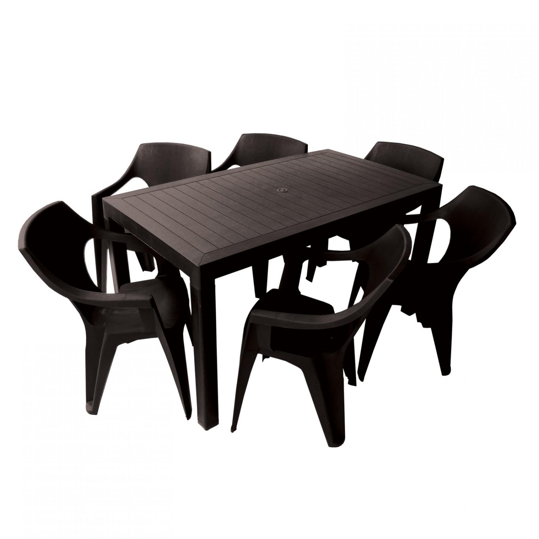 Dedeman scaun pentru gradina cati plastic maro for Masa cu scaune dedeman