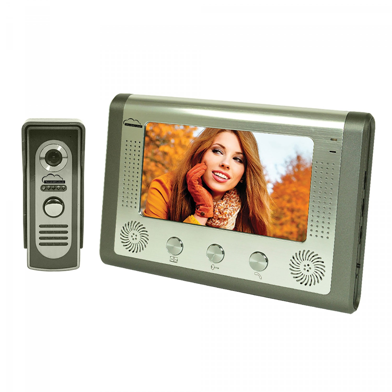 Videointerfon cu fir PNI-SC715, LCD 7 inch, infrarosu