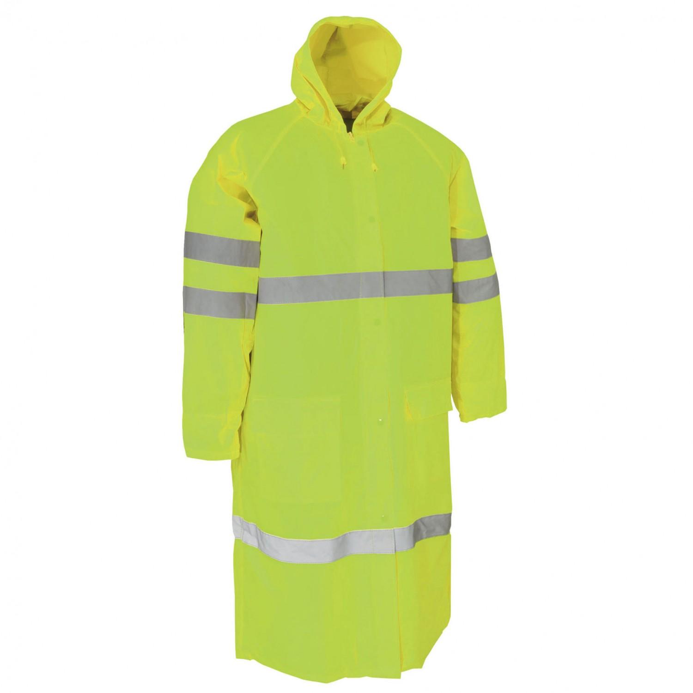 Pelerina ploaie Dalgeco Turpan, PVC, galben, marimea XXL