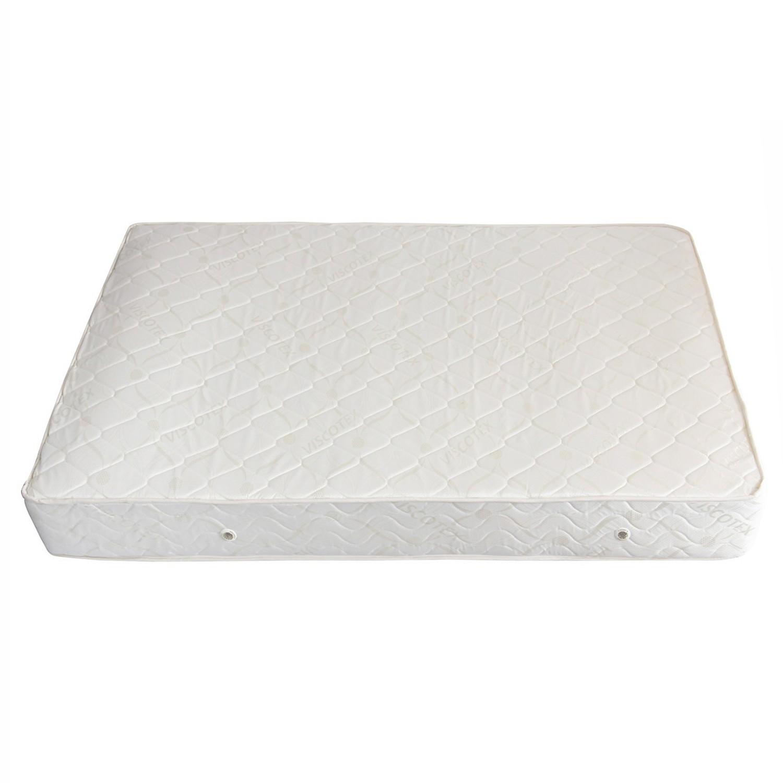 Saltea pat Viscotex superortopedica, cu spuma poliuretanica, cu arcuri, 140 x 200 cm