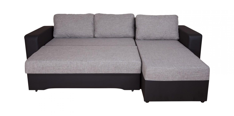 Coltar Roxana stanga Black 1114 232x150x74 cm 3C