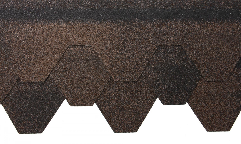 Sindrila bituminoasa Izopol hexagon maro