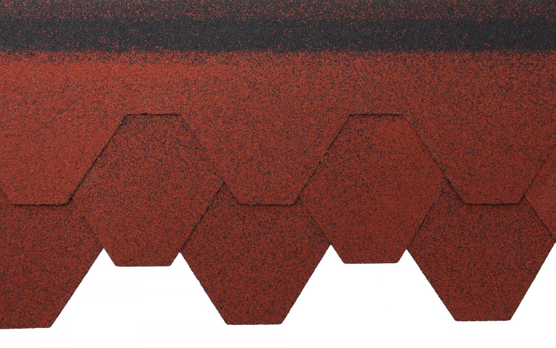 Sindrila bituminoasa Izopol hexagon rosie