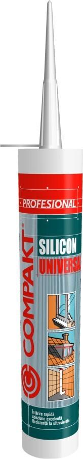 Silicon universal Compakt, maro, interior / exterior, 280 ml