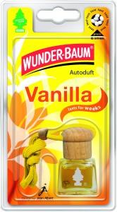 Odorizant auto, sticluta, Wunder - Baum, Vanilie, 9 x 2.5 x 6.6 cm