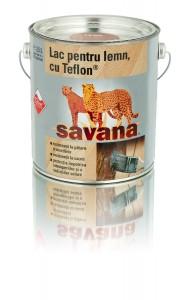 Lac pentru lemn Savana cu Teflon nuc 2,5 litri