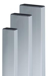 Dreptar aluminiu, pentru constructii, 30 x 100 x 1.2 mm, 2 m