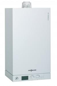 Centrala termica pe gaz, cu condensare, Viessmann Vitodens 100-W COMBI, 35 kW + kit evacuare