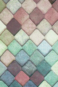 Covor living / dormitor Sintelon Vegas Pop 40 VAV polipropilena dreptunghiular multicolor 80 x 150 cm
