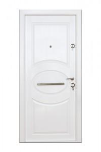Usa interior metalica Arta Door 318, stanga, alb, 201 x 88 cm