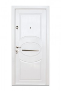 Usa interior metalica Arta Door 318, dreapta, alb, 201 x 88 cm