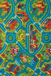 Covor camera copii Sintelon Play 78KVK polipropilena dreptunghiular multicolor 120 x 170 cm