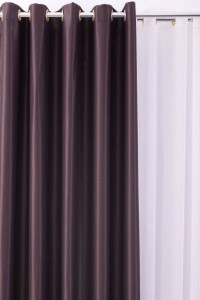 Draperie blackout BDF, poliester, wenge, H 280 cm